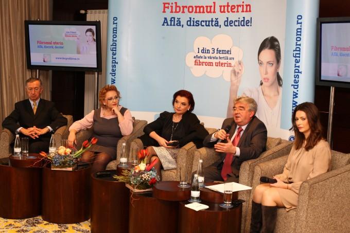 Lansarea campaniei Fibromul uterin – află, discută, decide!